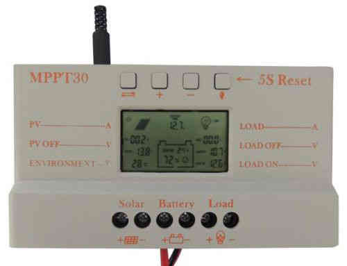 Available in UK SOLAR PANEL CHARGE CONTROLLER 30 Amp