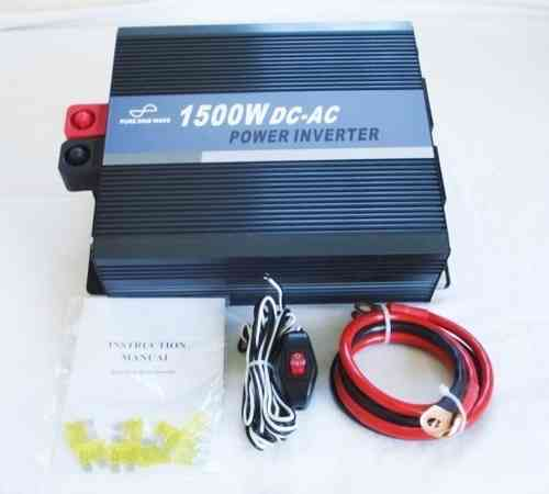 SeaSpray 12V/1500w Pure Sine Wave Inverter