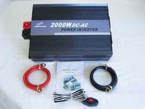 SeaSpray 12V/2000w Pure Sine Wave Inverter