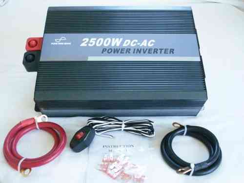 SeaSpray 12V/2500w Pure Sine Wave Inverter